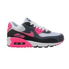 greece 2017 new release nike air max 90 essential white pink foil black  trainers for women 4ffa5905d