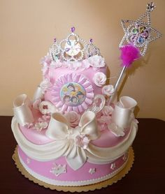 Birthday Cake Pictures For Girl Beautiful Disney Frozen And - Cakes for princess birthday
