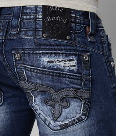 Rock Revival Luckett Slim Straight Jean - Men's Jeans | Buckle