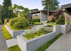 Awesome betonbetten stufenartig tipps f r modernes garten design