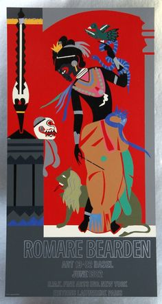 Items similar to Romare Bearden Odysseus Circe Exhibition Poster on Etsy African American Culture, African American Artist, American Artists, Renaissance Artworks, Romare Bearden, Black Artists, Male Artists, Black Artwork, Exhibition Poster