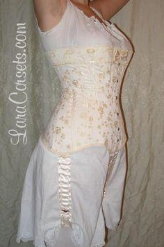 Reproduction Edwardian corset by LaraCorsets