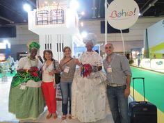 Mavel, Ale y Rafa en FIT (Feria Internacional de Turismo) 2012.