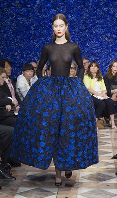 Dior - 1st Haute Couture Collection for Raf Simons #fashion #show #HC