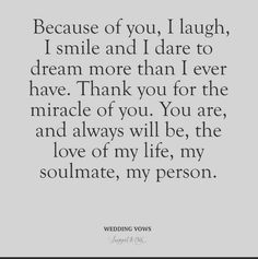 Today's gorg bride Kelly shares her heartfelt vows to groom Ryan. quotes for the bride Heartfelt Vows From A Bride to Her Groom :: Kelly & Ryan The Vow, Vows Quotes, Wedding Quotes And Sayings, Funny Wedding Vows, Love Quotes For Wedding, Best Wedding Vows, Wedding Planning Quotes, Dream Wedding, Wedding Music