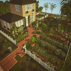Bayoubash Sims : A recreation of Ginia Kat's House, 56 Ingleside. Sims House Design, Sims Games, Sims Ideas, Sims 4 Build, Sims 4 Houses, Cottage Living, Sims 2, Buildings, Geek