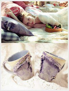 """""""Madame Pompadour"""" Mug Art- Visual art 2012."""