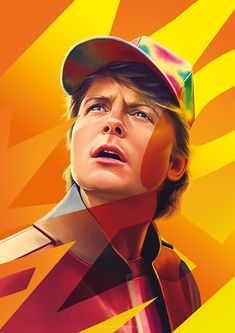 Movie Posters By Flore Maquin. Flore Maquin is one of the designer artists who has made significant studies in the field of digital art. Digital Art Fantasy, Digital Art Girl, Digital Portrait, Marty Mcfly, Culture Pop, Geek Culture, Arte Viking, Pop Art, 3d Cinema