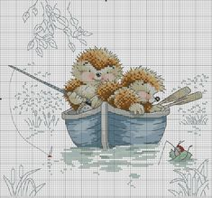 I can't resist round and smiliee stuff. Cross Stitch For Kids, Cute Cross Stitch, Cross Stitch Cards, Cross Stitch Designs, Cross Stitching, Cross Stitch Embroidery, Embroidery Patterns, Cross Stitch Patterns, Hedgehog Cross Stitch