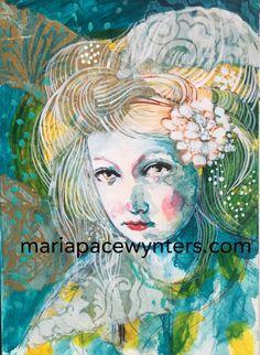 White Warrior | Maria Pace-Wynters