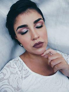 Maquiagem fácil para noivas - INSTAGRAM: @tatyramos14