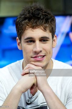 Martino Rivas attends 'El Hormiguero' Tv show at Vertice Studio on May 15, 2014 in Madrid, Spain.