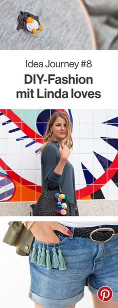 """Aus alten Kleidern werden neue Lieblinge. Zusammen mit Linda loves zeigen wir euch im August tolle Anleitungen und Inspirationen, wie ihr eurer Kleidung ein zweites Leben verschafft. Auf unserer Gruppenpinnwand findet ihr alles zum Thema """"DIY-Fashion"""". Seid dabei und probiert doch auch mal eine Idee aus!"""