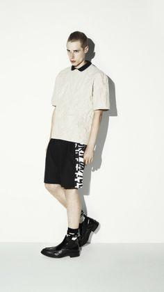 McQ | Alexander McQueen SS 2014 Menswear Lookbook
