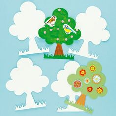 Save 11% - Was £2.25 - Now £1.99  Pack of 10. Create a forest in the classroom! Great for displays or collage.