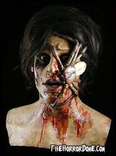 The Spider Victim is a halloween mask offered by the experts at the Horror Dome. Find this and more halloween masks here! Bloody Halloween, Halloween Masks, Halloween Decorations, Halloween Face Makeup, Halloween Ideas, Halloween Birthday, Importance Of Time Management, The Expendables, Mascaras
