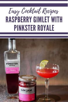 This raspberry gin cocktail is a take on a classic gimlet. Adding raspberry gin and jam makes a refreshing light raspberry gimlet cocktail Raspberry Gin Cocktail, Raspberry Liqueur, Cocktail And Mocktail, Cocktail Recipes, Sweet Cocktails, Refreshing Cocktails, Easy Cocktails, Summer Cocktails, Drinks