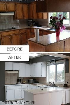 Kitchen Cabinet Refacing - The Process | Hometalk: Summer ...