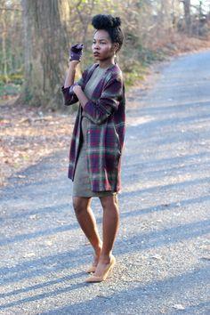 fashion, street style inspiration, black girl, flannel shirt, plaid shirt, fall outfit, black womens inspiration