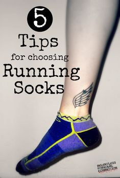 Happy feet = Happy runner! Unfortunately the importance of choosing the right socks is often (and understandably) overlooked by new or inexperienced runners, who may view socks as a second-thought accessory. But wearing the wrong socks can trouble a runner with a wide variety of ailments, from minimal discomfort to painful blisters. Keeping the following tips in mind while choosing running socks will help keep your feet comfortable, and help ensure continued running success. #RUN