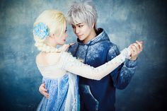 * Elsa and Jack Frost *