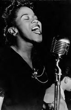 Ella Fitzgerald this is not... This is Sarah Vaughn babay!!