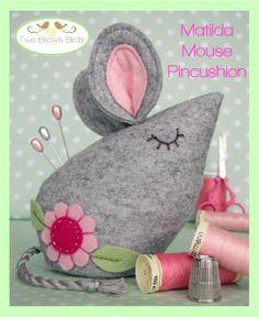 Matilda Mouse Pincushion Creative Card