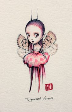 Mab Graves - Repressed Fairies - Pea Blossom