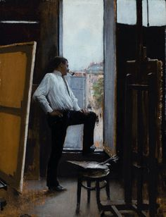 Jean Béraud (French, 1849-1935) In The Studio, 1885. Oil on panel.