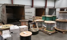 Loading up! #ace #acewire #wire #cable #deliveries #reels #spools #topnotchservice