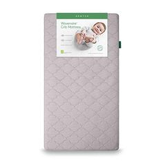 Newton Wovenaire Crib Mattress- breathable design proven to reduce suffocation risk. Beyond organic- fully washable, UL Greenguard Gold Certified lowest VOC's, non-toxic and hypoallergenic. Best Crib Mattress, Camping Mattress, Best Baby Cribs, Latex Mattress, Safe Cleaning Products, Baby Health, Baby Decor, Nursery Decor, Baby Design