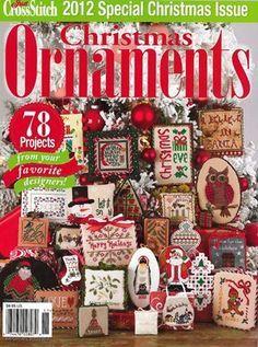 Just Cross Stitch Christmas Ornament Magazine 2012