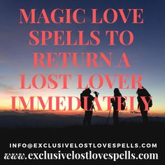 Casting lost love spells is an effective way of getting your ex-husband, ex-wife, ex-boyfriend or ex-girlfriend back with you without any nasty drama in the process. Simply contact us and explain your situation then we get started. Luck Spells, Money Spells, Magic Spells, Break Up Spells, Love Spell That Work, Lost Love Spells, Falling Back In Love, Protection Spells