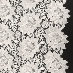 The Ester inspired design of our Guipure French Venice Lace is 52/53'' inches wide and 100% polyester. This fabric is available in several colors and sold by the yard. This wonderful lace is perfect f