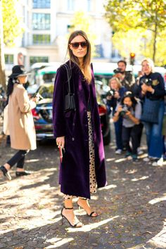 272 fall outfits from the streets of Paris Fashion Week to try this season: