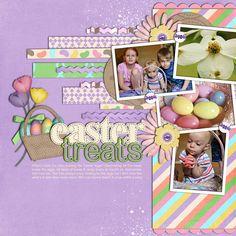 by: shutterspeed   Hoppy Easter Digital Scrapbook Kit from www.peppermintcreative.com