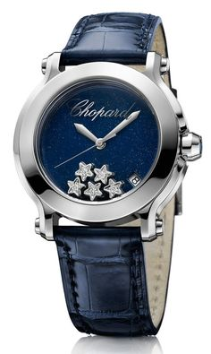 Chopard Happy Diamonds Watch  Loving the stars!