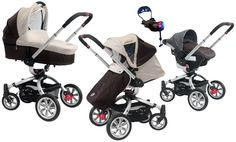Marco Polo is the new high-end pushchair 3in1 for children from the earliest days of life up to 3 years