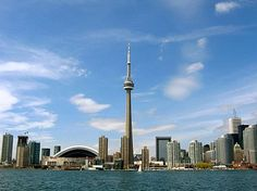 I remember the CN Tower being built and going up to top the first summer it was open.