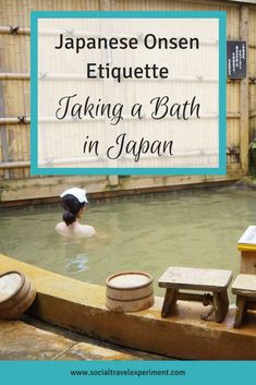 Japanese Onsen Etiquette is one of the most important things to know if you want to take a Bath in Japan. A visit to the Japanese hot springs is more complicated than you might thing and a bit of Onsen 101 might help you remember some rules for Japanese Japan Travel Guide, Asia Travel, Travel Guides, Onsen Etiquette, Japanese Bath House, Japanese Hot Springs, Japan Guide, Travel Rewards, Visit Japan