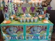 Resultado de imagen para mesa de dulces monster inc