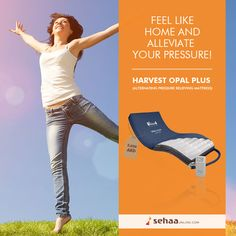 Enjoy the maximum Comfort and treat your pressure with our Harvest Opal Plus Pressure Relieving mattress.