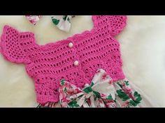 e737f227d7f كروشيه فستان موديل تركي مميز مع القماش crochet dress with fabric - YouTube
