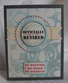 Открытка с выходом на пенсию своими руками
