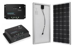 Renogy Off-grid Solar Kits: 5 Cool Solar Kits with Renogy Wanderer Charge Controllers for Unlimited Off-grid Power Portable Solar Power, Portable Solar Panels, Off Grid Solar, Off The Grid, Kit, Off Grid
