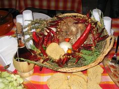 """typical food on the home table. the tasty """"cuisine of poverty"""". Country Living, Tasty, Traditional, Table Decorations, Food, Home Decor, Kitchens, Country Life, Decoration Home"""