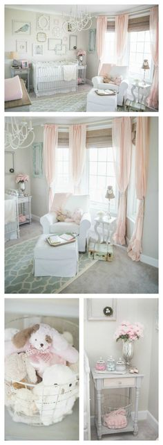 Kinderzimmer Shabby Chic dainty and nursery
