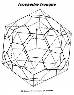 Icosaèdre tronqué