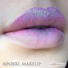 "unicorn makeup inspiration ""Mauve gradient lip using lipstick in D'lilac, Airborne unicorn and Zodiac glitter"" New Makeup Trends, Makeup Inspo, Makeup Art, Lip Makeup, Makeup Inspiration, Beauty Makeup, Makeup Ideas, Edgy Makeup, Dramatic Makeup"