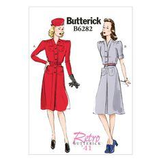De beste Butterick Patroon 6282-F5 koop je voordelig bij Textielstad voor maar €10,54